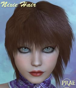 Prae-Nixie Hair For V4/M4 and La Femme