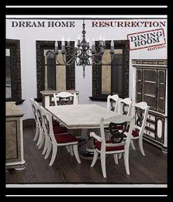 Dream Home Resurrection: Dining Room DS Iray