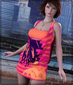 7th Ave: dForce - Yolanda Dress for G8F