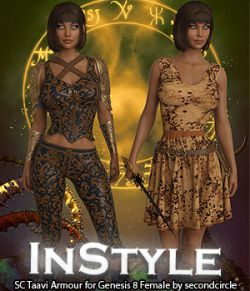 InStyle- SC Taavi Armour for Genesis 8 Female
