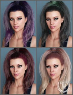 OOT Hairblending 2.0 Texture XPansion for Hannah Hair