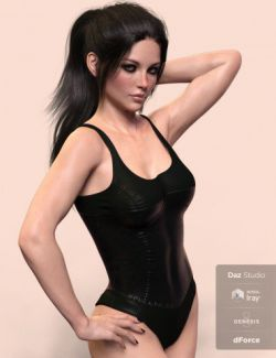 X-Fashion Nightshade Bodysuit for Genesis 8 Female(s)