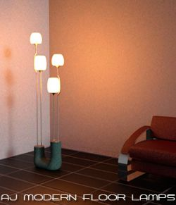 AJ Modern Floor Lamps