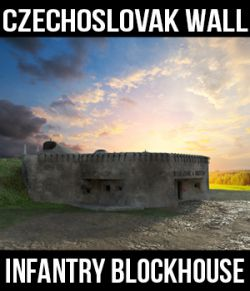 Czechoslovak Wall- Infantry Blockhouse