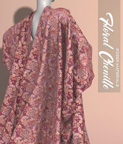 Poser - Floral Chenille
