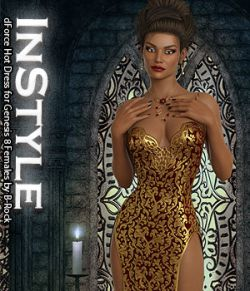 InStyle - dForce Hot Dress for Genesis 8 Females