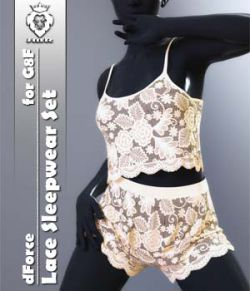 JMR dForce Lace Sleepwear Set for G8F