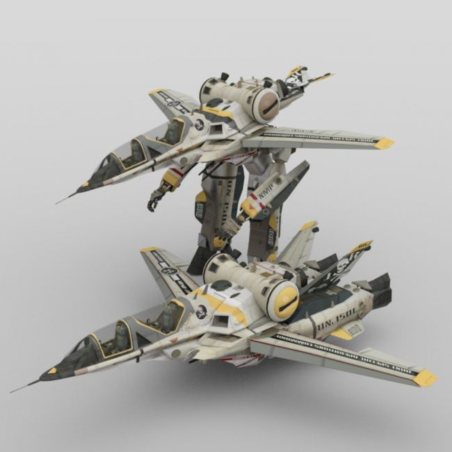 YF-35 Warthog VGF for Poser