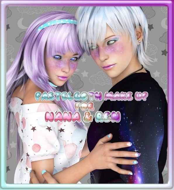 PastelGoth Makeup for Nana and Ren