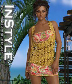 InStyle- dForce- Yolanda Dress for G8F