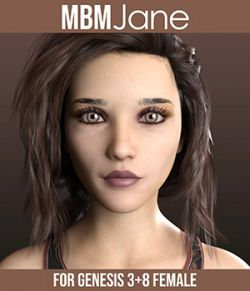 MbM Jane for Genesis 3 and 8 Female