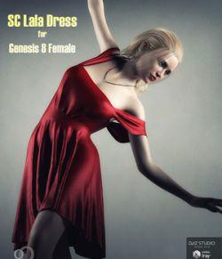 SC Lala Dress for Genesis 8 Female