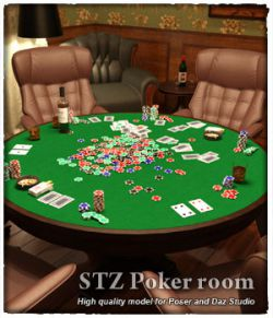 STZ Poker room