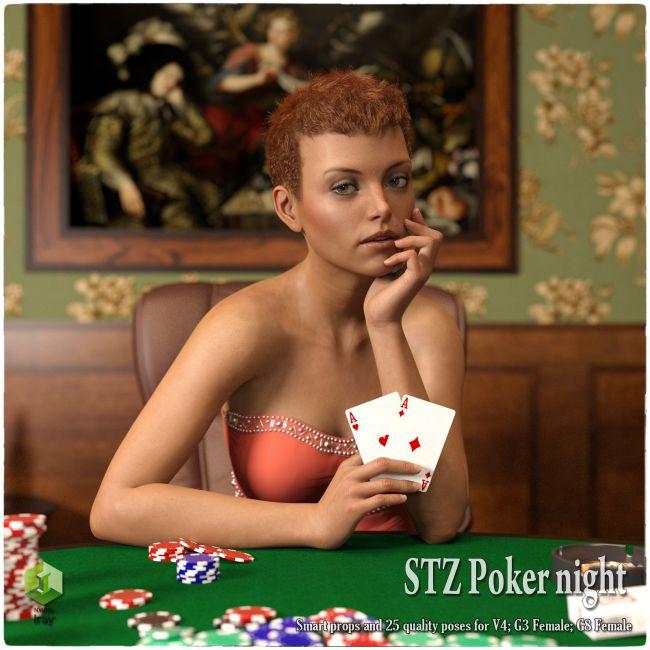 STZ Poker night