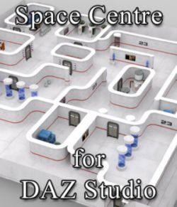 Space Centre for DAZ Studio