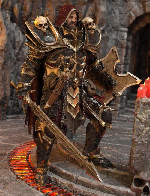 dForce Dark Guard HD Armor for Genesis 8 Male(s)