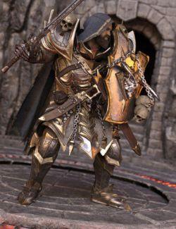 Dark Guard Poses for Genesis 8 Male