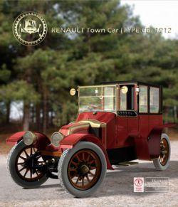 RENAULT TOWN CAR 1912