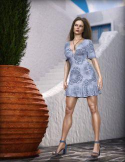 dForce MDSD Rhodes Summer Set Outfit Textures