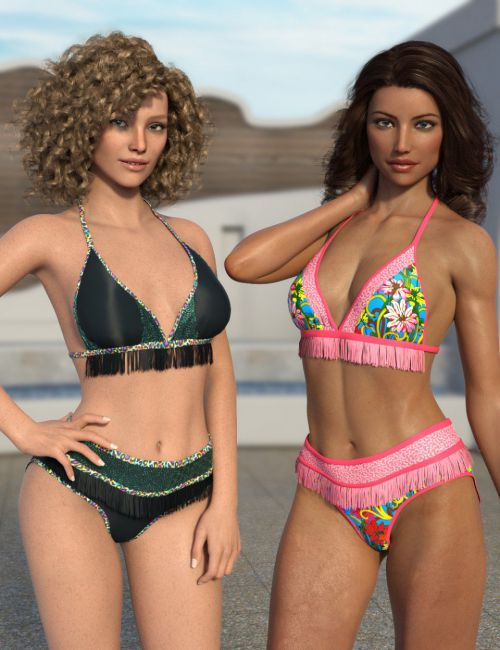 Fringe Bikini Texture Expansion