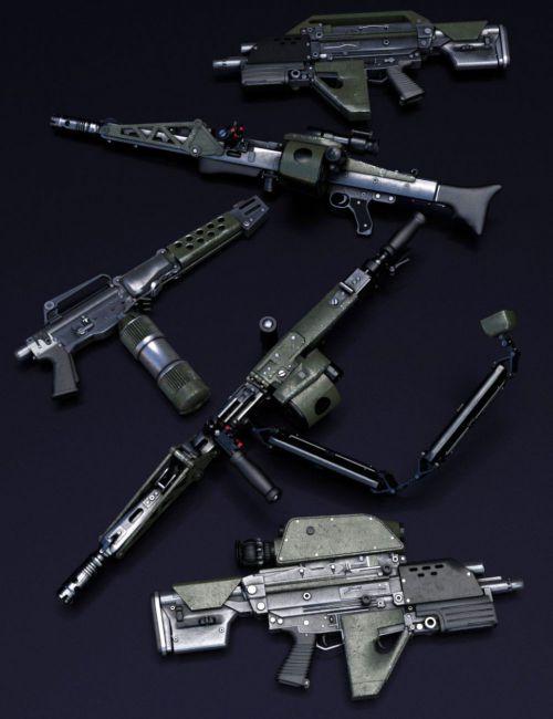 UCMC Weapons