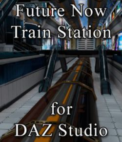 Future Now Train Station for DAZ Studio