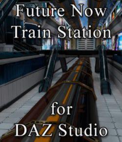Future Now Train Station for DAZ Studio