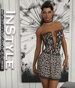 InStyle- JMR dForce Frill Skater Dress for G8F