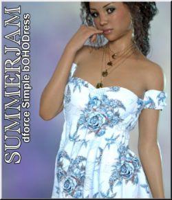 Summerjam- Simple Boho-Dress
