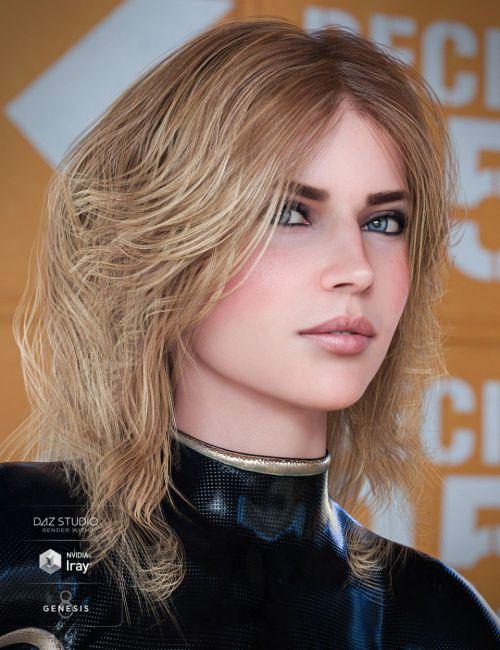 Geo Hair for Genesis 8 Female(s)