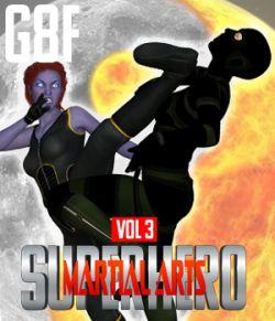SuperHero Martial Arts for G8F Volume 3