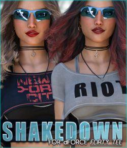 Shakedown for dForce Flirty Tee G8F