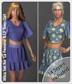 Mica Set for La Femme Teen and La Femme
