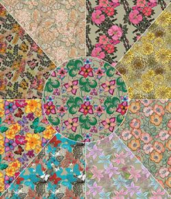 Floral Overlays