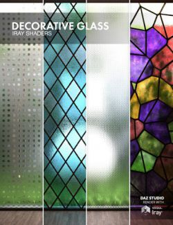 Decorative Glass - Iray Shaders
