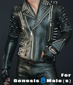 Spiky Jacket for Genesis 8 Male(s)