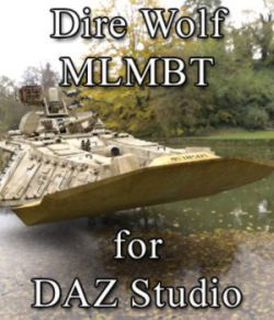 Dire Wolf MLMBT for DAZ Studio
