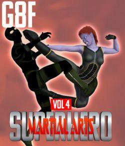 SuperHero Martial Arts for G8F Volume 4