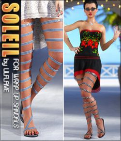 Soleil for Wrap Up Sandals G8F