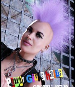 PunkyGirls Hairs for Genesis 8 Female