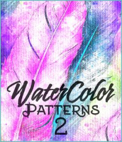 Seamless Watercolor Patterns 2