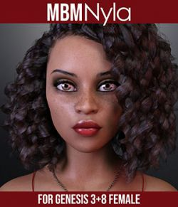 MbM Nyla for Genesis 3 & 8 Female