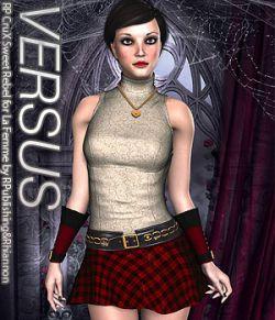 VERSUS- RP CruX Sweet Rebel for La Femme