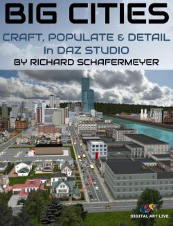 How to Craft and Populate and Detail Big Cities in Daz Studio