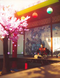 Japanese Tree Room