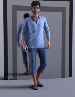 dForce CityBoy Outfit for Genesis 8 Male(s)
