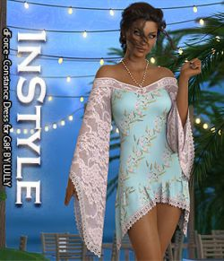 InStyle- dForce- Constance Dress for G8F
