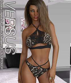VERSUS- Roxana Lingerie for Genesis 8 Female(s)