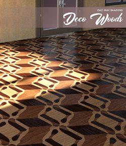 Daz Iray - Deco Wood