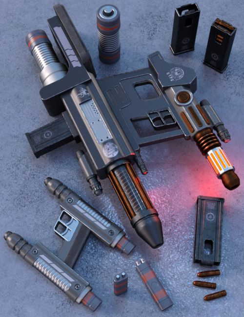 Sci Fi Dual Weapons